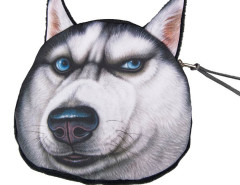 Angry Husky Coin Purse Choies.com online fashion store United Kingdom Europe