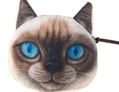 Berman Cat Coin Purse Choies.com online fashion store United Kingdom Europe