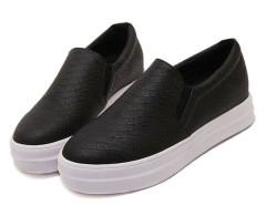 Black Snake Pattern Platform Shoes Choies.com online fashion store United Kingdom Europe