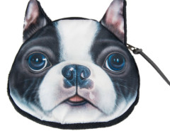 Boston Terrier Dog Coin Purse Choies.com online fashion store United Kingdom Europe