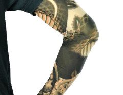 Dragon Tattoo Sleevelets Women Or Men Choies.com online fashion store United Kingdom Europe