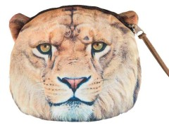 Fierce Lion Pattern Coin Purse Choies.com online fashion store United Kingdom Europe