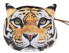 Fierce Tiger Pattern Coin Purse Choies.com online fashion store United Kingdom Europe
