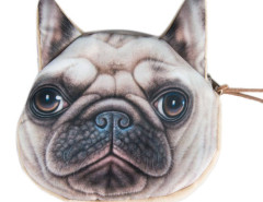 French Bulldog Dog Coin Print Purse Choies.com online fashion store United Kingdom Europe