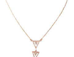 Golden Triangle Pendant Necklace Choies.com online fashion store United Kingdom Europe