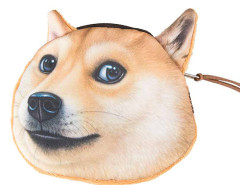 Happy Doge Coin Purse Choies.com online fashion store United Kingdom Europe