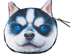 Husky Dog Coin Purse Choies.com online fashion store United Kingdom Europe