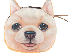 Retriever Dog Print Coin Purse Choies.com online fashion store United Kingdom Europe