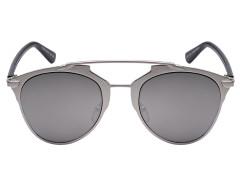 Silver Frame Mirrored Lens High Bar Retro Sunglasses Choies.com online fashion store United Kingdom Europe