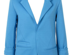 Slim Blazer In Blue Choies.com online fashion store United Kingdom Europe