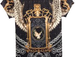 Unisex T-shirt With Eagle Print Choies.com online fashion store United Kingdom Europe