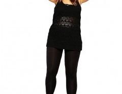 Plus Size Solid High Waist Leggings Chicnova online fashion store China