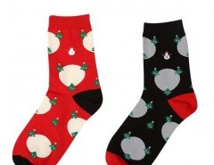 Christmas Print Socks Chicnova online fashion store China
