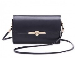 Solid Buckle Fastening Clutch Bag Chicnova online fashion store China