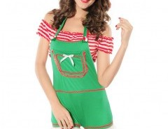 Christmas Romper Set (romper  crop top and hat) Chicnova online fashion store China