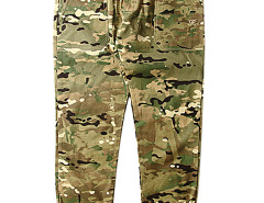 Men's Camouflage Elastic Cuff Pants with Zipper Detail Choies.com online fashion store USA