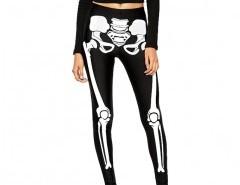High Shine Leggings in Skeleton Print Chicnova online fashion store China