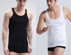 1pc Men Slimming Vest Shirt Corset Body Shaper Fatty Cndirect online fashion store China