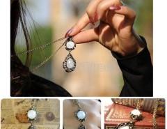 1pcs Korea Stylish and Elegant Women's Long Pendant Retro Necklace Fashion Cndirect online fashion store China