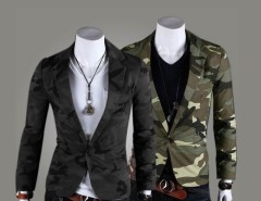 2016 Trends Men Camouflage Army Wind One Button Suit Casual Outwear Coat Cndirect online fashion store China