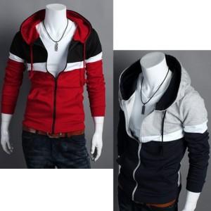 2016 Trends Men's Fit Long Sleeve Hood Coat Cndirect online fashion store China
