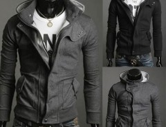 2016 Trends Men's Slim Top Designed Sexy Hoody Jacket Coat Cndirect online fashion store China