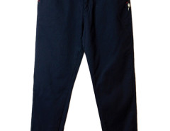 Navy Camou Pattern Panel Pocket Jogger Pants Choies.com online fashion store USA