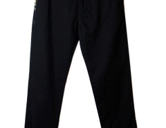 Black Camou Pattern Panel Pocket Jogger Pants Choies.com online fashion store USA
