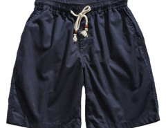 Navy Drawstring Waist Shorts Choies.com online fashion store USA