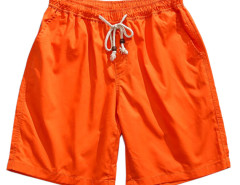 Orange Drawstring Waist Shorts Choies.com online fashion store USA