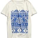 White Tribe Symbol Print T-shirt Choies.com online fashion store USA