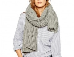 Scarf in Chunky Knit Chicnova online fashion store China