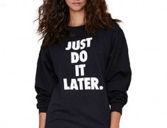 Long Sleeve Print Sweatshirt Chicnova online fashion store China