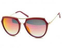 Double-bridge Round Sunglasses Chicnova online fashion store China