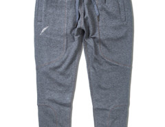 Dark Gray Zip Pocket Drawstring Waist Tapered Joggers Choies.com online fashion store USA
