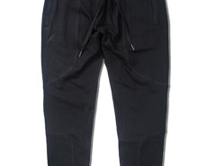 Black Zip Pocket Drawstring Waist Tapered Joggers Choies.com online fashion store USA