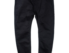 Black Slim Pocket Tapered Jogger Pants Choies.com online fashion store USA