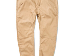 Khaki Slim Pocket Tapered Jogger Pants Choies.com online fashion store USA