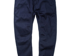 Dark Blue Slim Pocket Tapered Jogger Pants Choies.com online fashion store USA