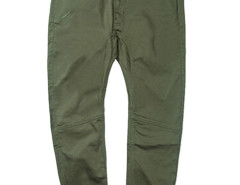 Army Green Slim Pocket Tapered Jogger Pants Choies.com online fashion store USA