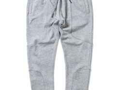 Light Gray Zip Pocket Drawstring Waist Tapered Joggers Choies.com online fashion store USA