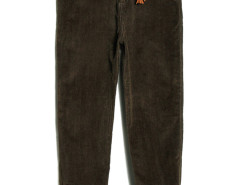 Army Green Tasseled Drop Emebllished Corduroy Pants Choies.com online fashion store USA