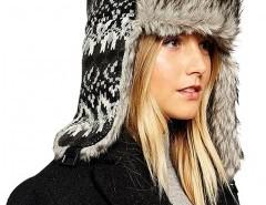 Trapper Hat in Fair Isle Design Chicnova online fashion store China