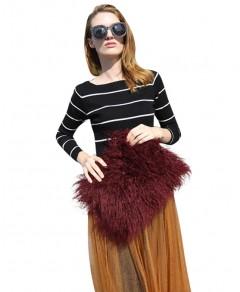Faux Fur Clutch Bag Chicnova online fashion store China