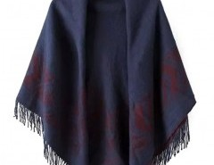Jacquard Scarf with Tassel Ends Chicnova online fashion store China