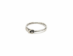 cute knot ring in antiqued sterling silver MrKate.com online fashion store USA