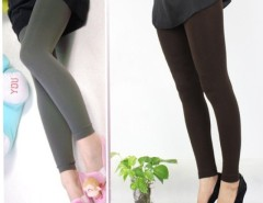 5 Colors Pick Women Warm Winter Slim Leggings Stretch Pants Thick Footless Tight Cndirect online fashion store China