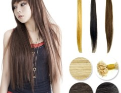 """50pcs Women's Girls 18"""" / 20"""" Flat tip hair Remy European Pre-bonded Human Hair Extension 3 Color Cndirect online fashion store China"""
