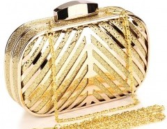 Metallic Box Clutch Chicnova online fashion store China