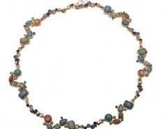 Stone Necklace with Multi Color Pendants Chicnova online fashion store China